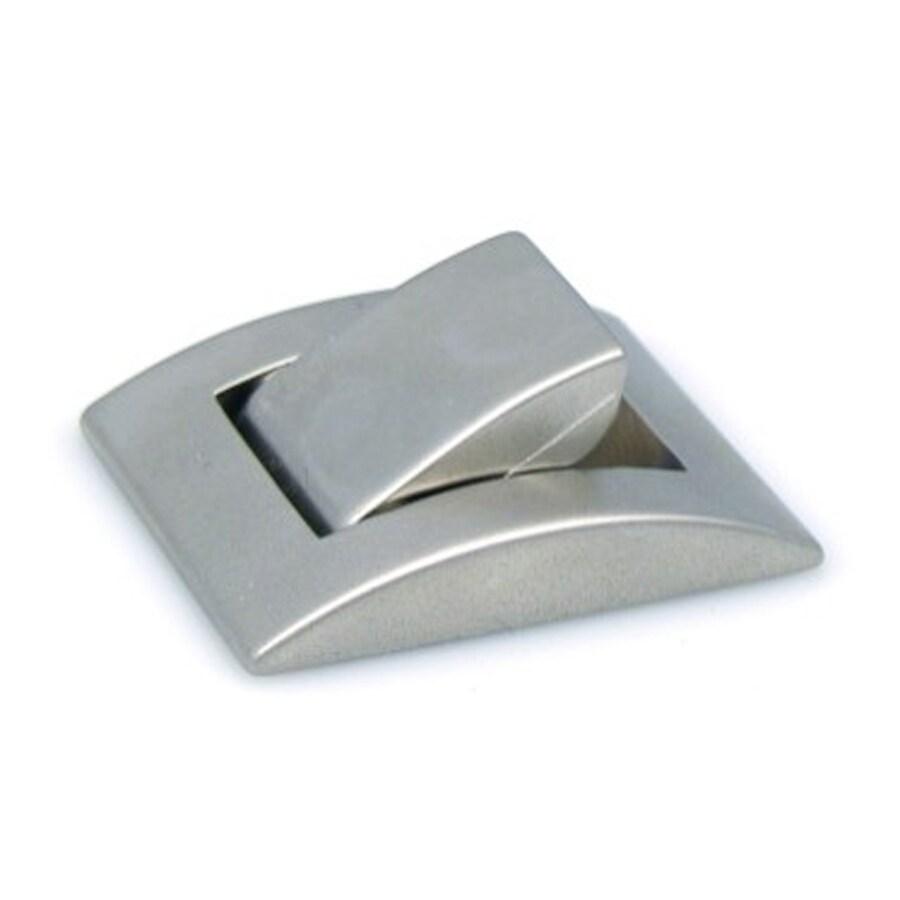 Topex Hardware Zinc Alloy Matte Nickel Rectangular Cabinet Knob