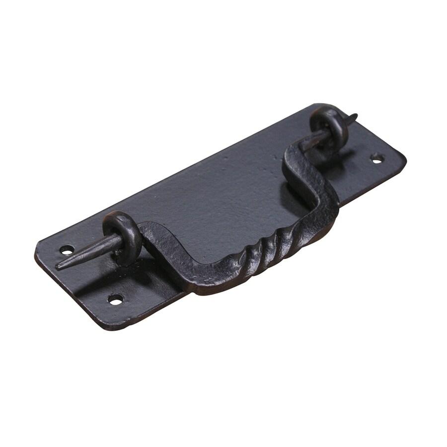 Artesano Iron Works 4-3/4-in Center-to-Center Semi-Matte Black Bail Cabinet Pull