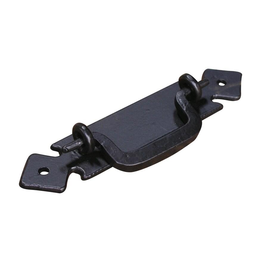 Artesano Iron Works Semi-Matte Black Bail Cabinet Pull