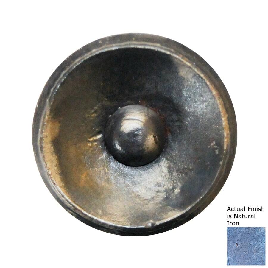 Artesano Iron Works Natural Iron Round Knob