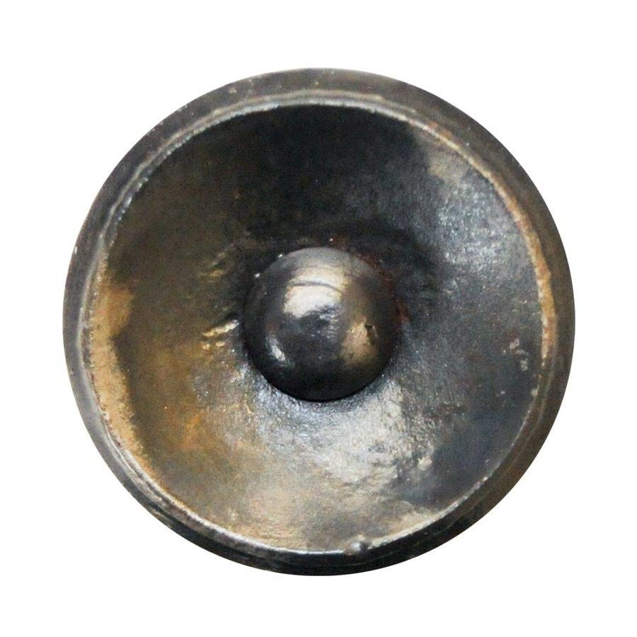 Artesano Iron Works Semi Matte Black Round Knob