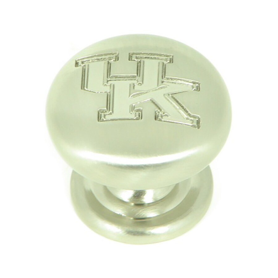 Stone Mill Hardware Collegiate Hardware Satin Nickel Novelty Cabinet Knob