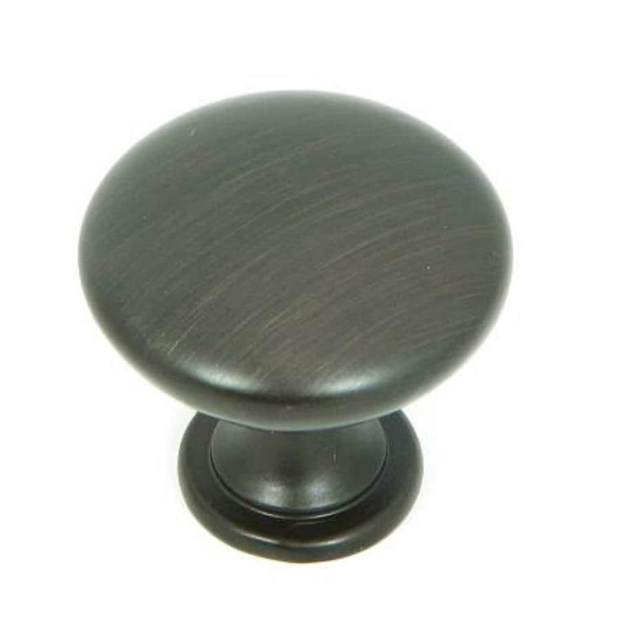 Stone Mill Hardware Oil-Rubbed Bronze Round Cabinet Knob