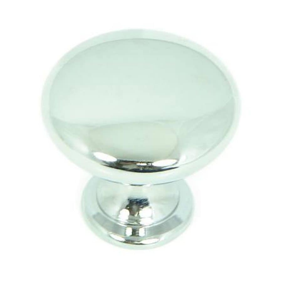 Stone Mill Hardware Princeton Polished Chrome Round Cabinet Knob