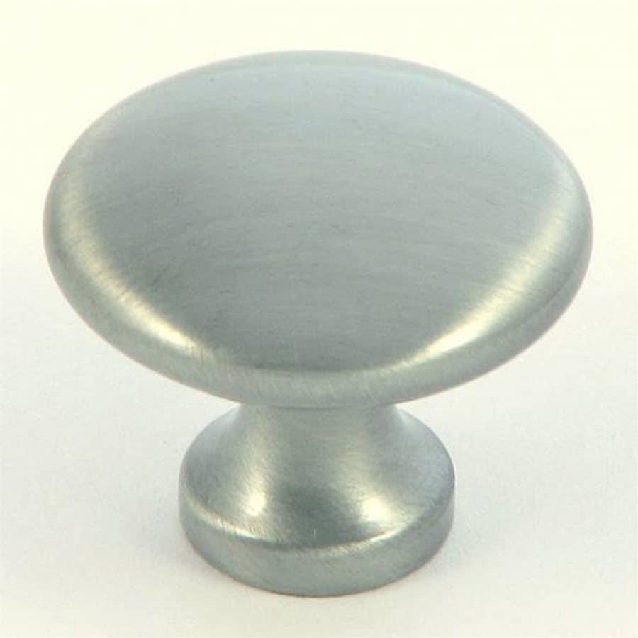 Stone Mill Hardware Princeton Satin Pewter Round Cabinet Knob