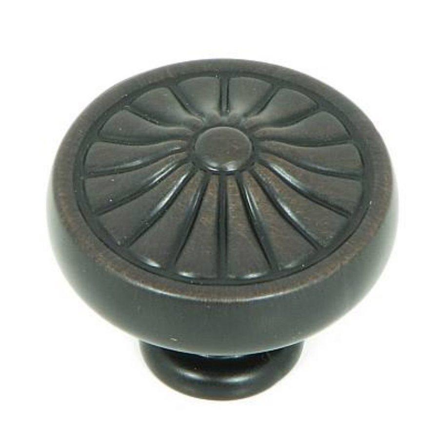 Stone Mill Hardware Darlington Oil-Rubbed Bronze Round Cabinet Knob