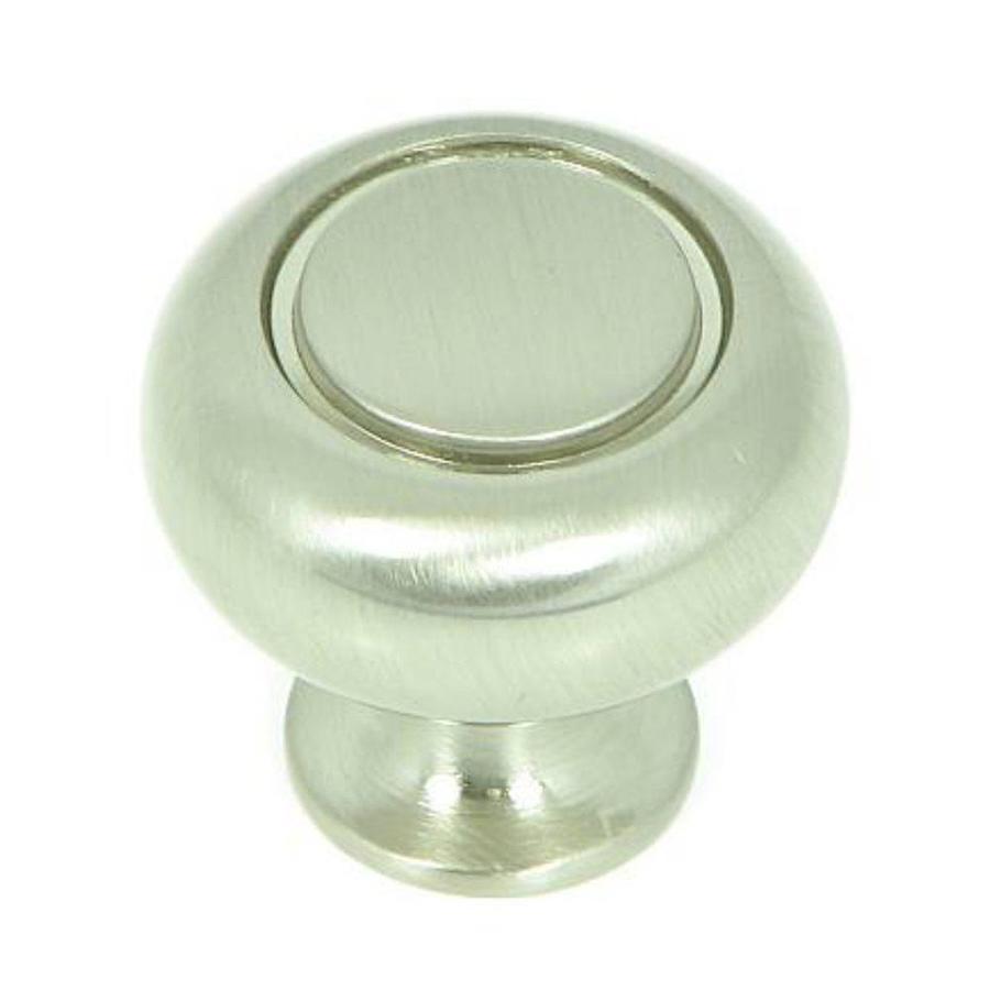 Stone Mill Hardware Manhattan Satin Nickel Round Cabinet Knob