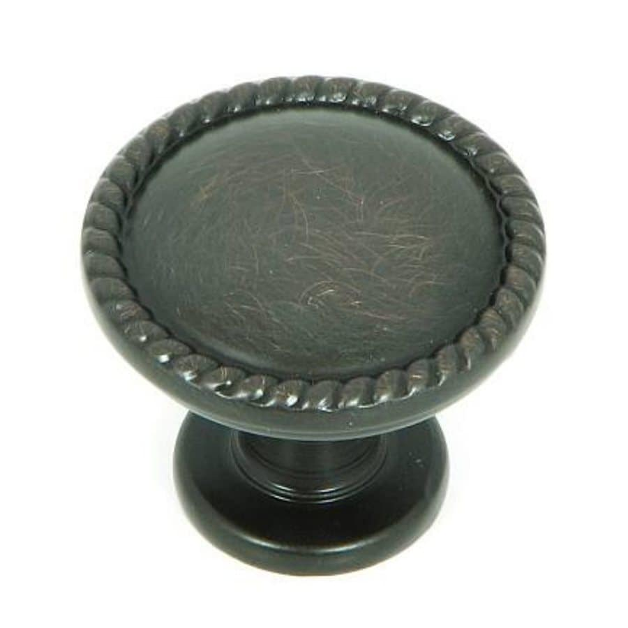 Stone Mill Hardware Newport Oil-Rubbed Bronze Round Cabinet Knob