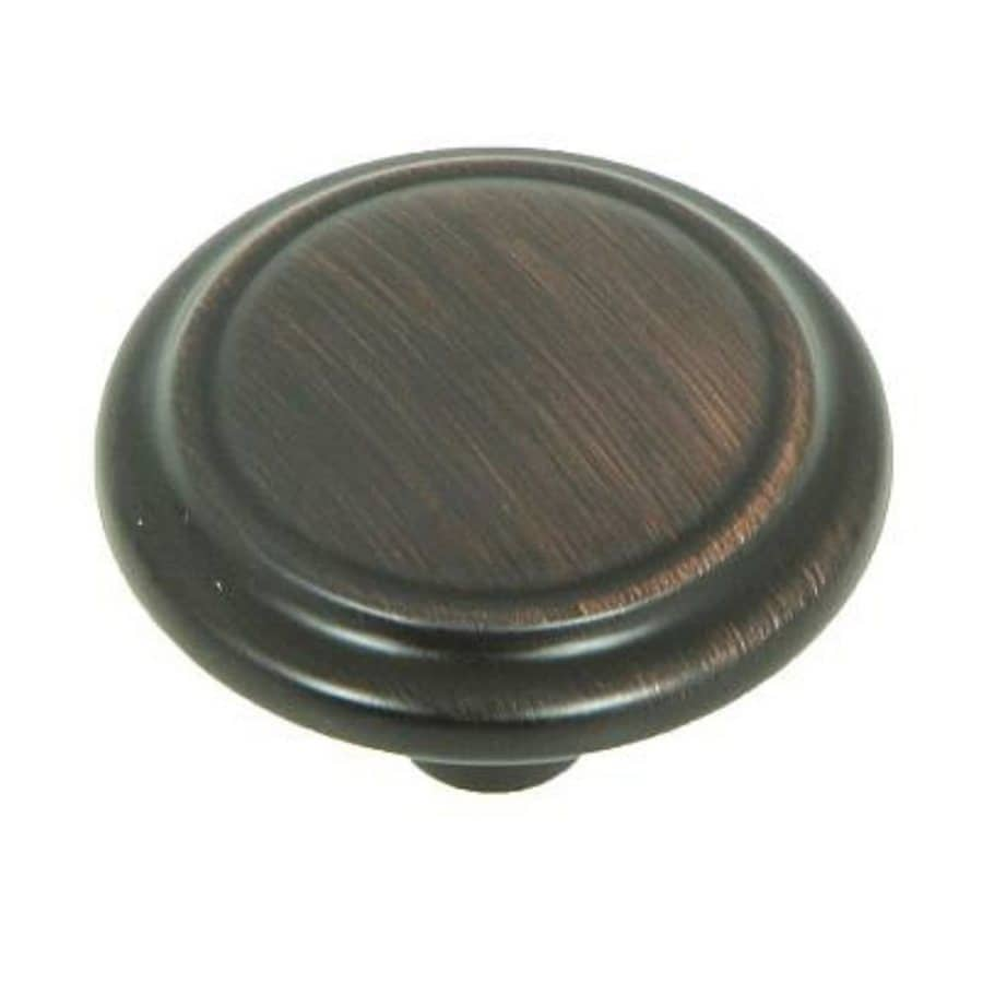 Stone Mill Hardware Sidney Oil-Rubbed Bronze Round Cabinet Knob