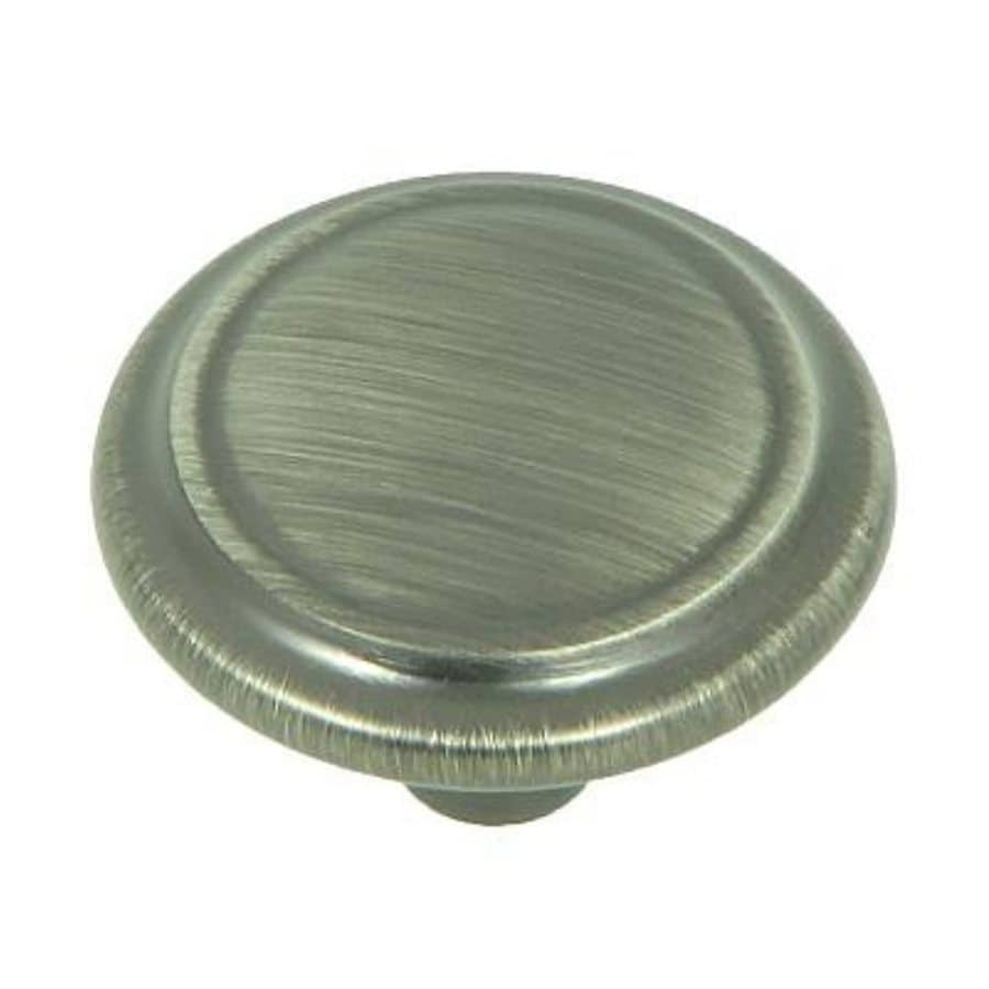 Stone Mill Hardware Princeton Weathered Nickel Round Cabinet Knob