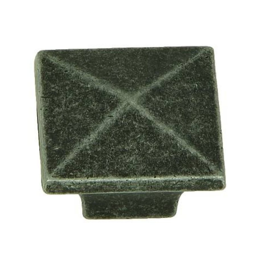 Stone Mill Hardware Cairo Swedish Iron Square Cabinet Knob