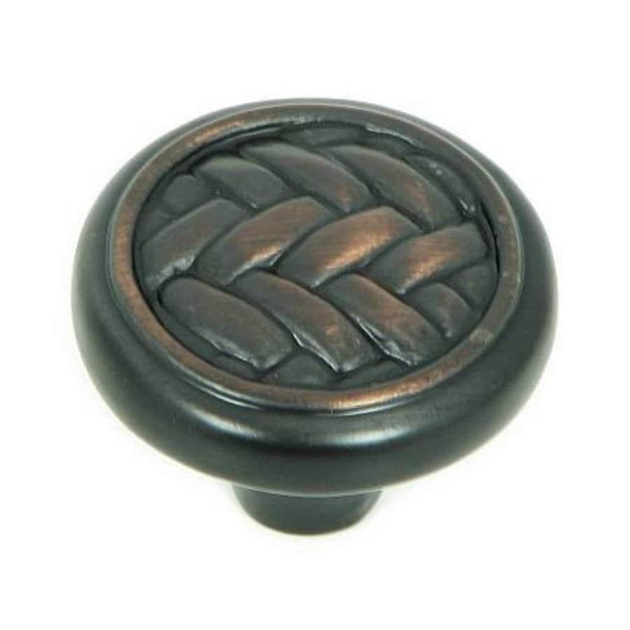 Stone Mill Hardware Harris Oil-Rubbed Bronze Round Cabinet Knob