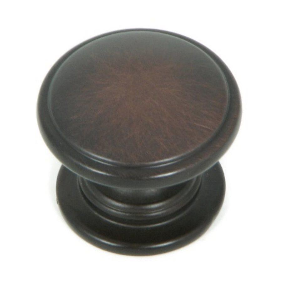 Stone Mill Hardware Saybrook Oil-Rubbed Bronze Round Cabinet Knob