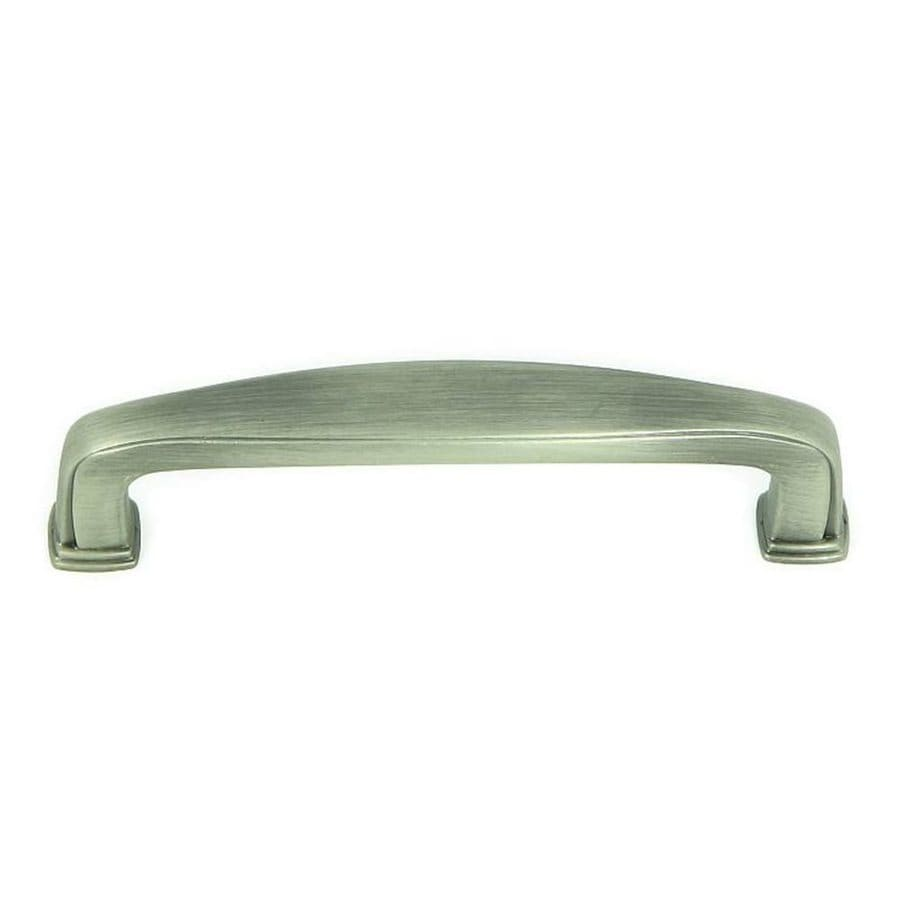 Stone Mill Hardware 3-3/4-in Center-to-Center Weathered Nickel Milan Bar Cabinet Pull