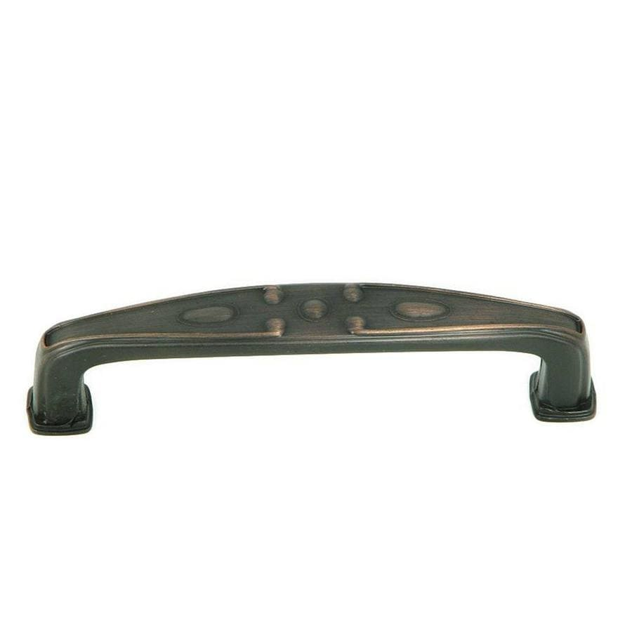Stone Mill Hardware 3-3/4-in Center-to-Center Oil-Rubbed Bronze Milan Bar Cabinet Pull