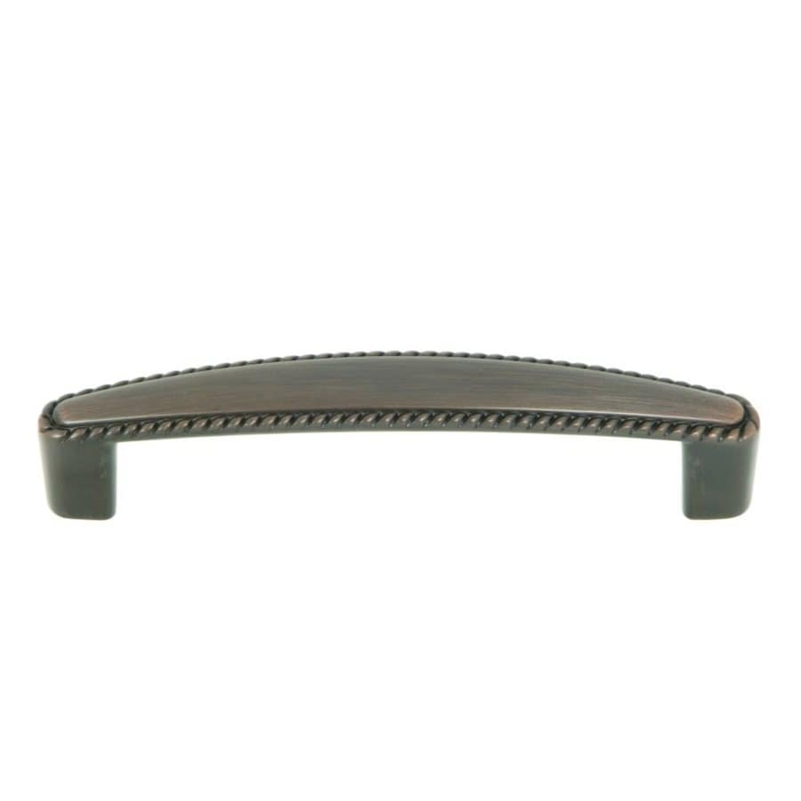 Stone Mill Hardware 3-3/4-in Center-to-Center Oil-Rubbed Bronze Palermo Arched Cabinet Pull