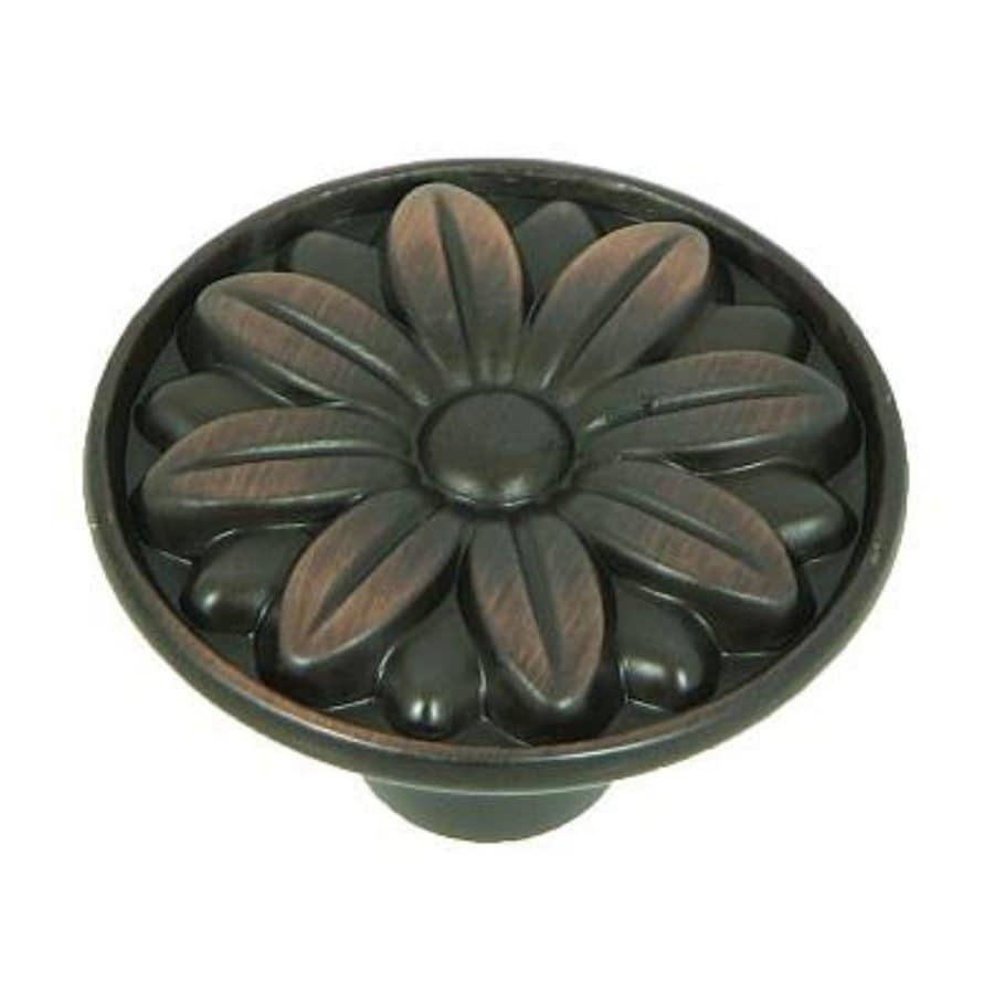 Stone Mill Hardware Mayflower Oil-Rubbed Bronze Round Cabinet Knob