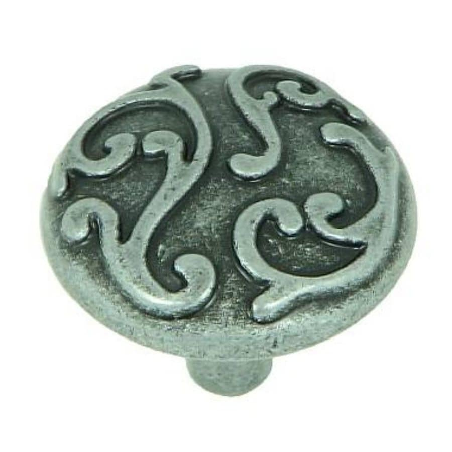 Stone Mill Hardware Ivy Swedish Iron Round Cabinet Knob