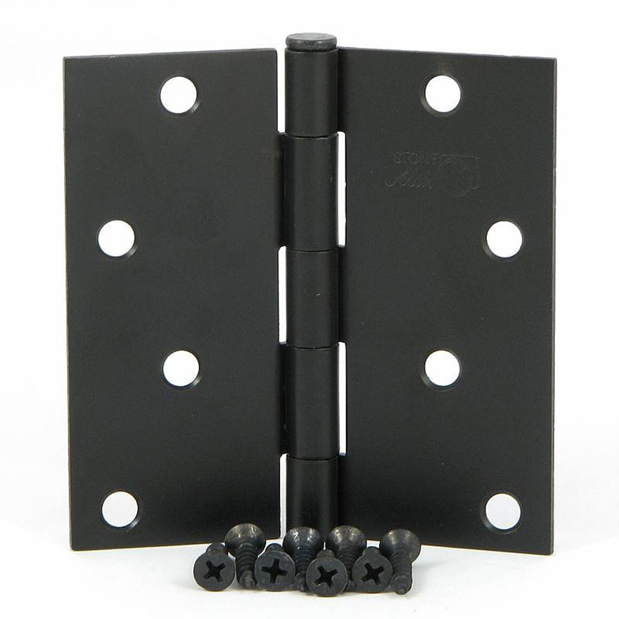 Stone Mill Hardware Oil-Rubbed Bronze Door Hinge