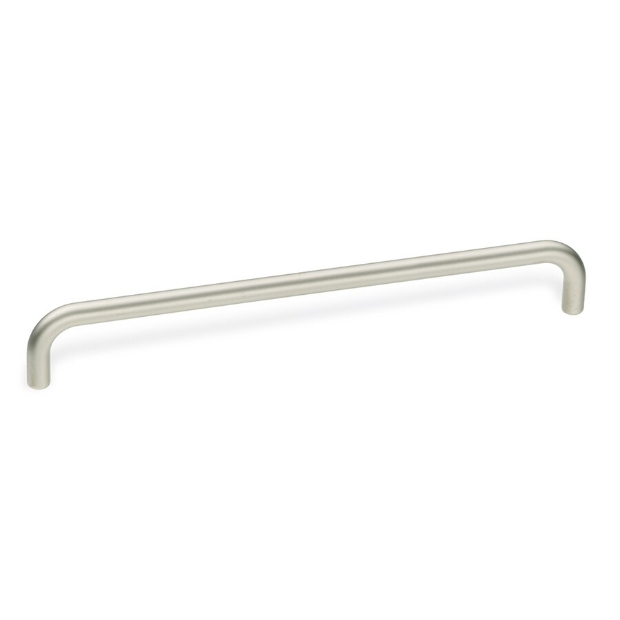 Schwinn Hardware 6-5/16-in Center-to-Center Satin Nickel Bar Cabinet Pull