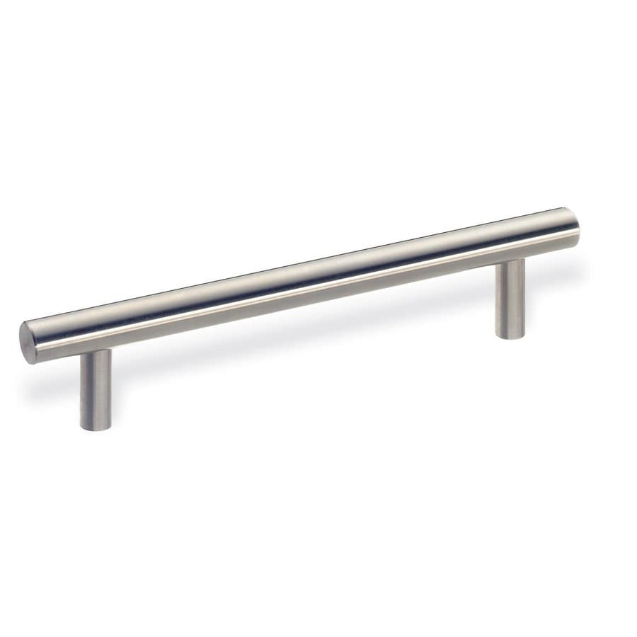 Schwinn Hardware 10-in Center-to-Center Stainless Steel Bar Cabinet Pull