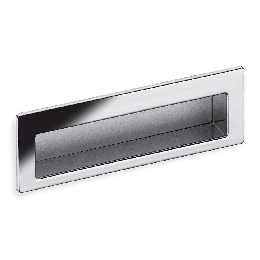 Schwinn Hardware 3-3/4-in Center-to-Center Polished Chrome Rectangular Cabinet Pull