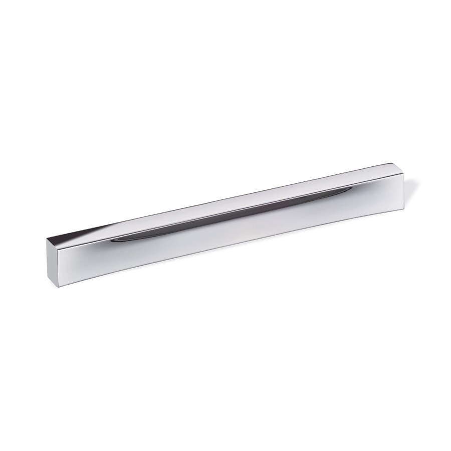 Schwinn 7-1/2-in Center-To-Center Polished Chrome Rectangular Cabinet Pull