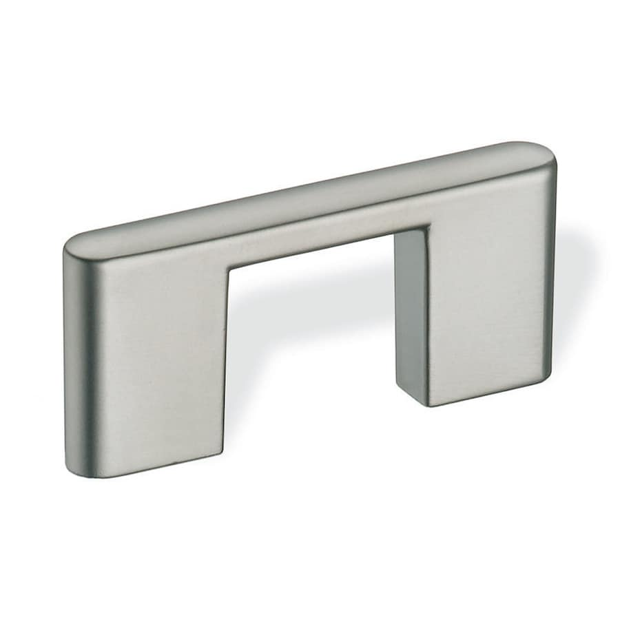 Schwinn 1-1/4-in Center-To-Center Satin Nickel Bar Cabinet Pull