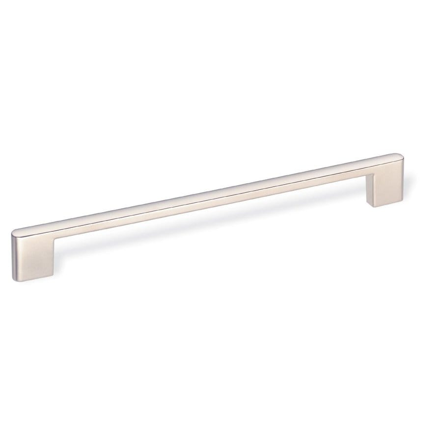 Schwinn 7-1/2-in Center-To-Center Satin Nickel Bar Cabinet Pull