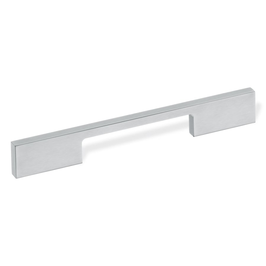 Schwinn 6-in Center-To-Center Matte Chrome Bar Cabinet Pull