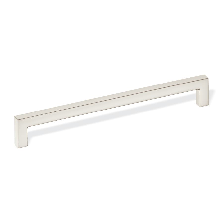 Schwinn Hardware 7-9/16-in Center-to-Center Satin Nickel Bar Cabinet Pull