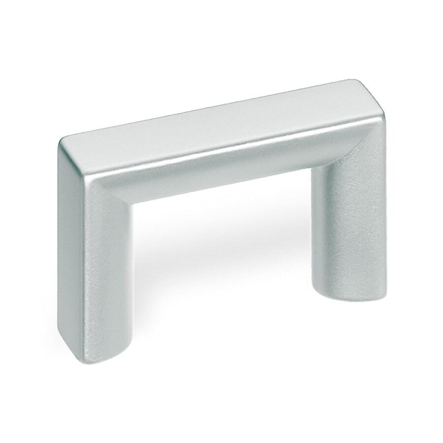 Schwinn 1-1/4-in Center-To-Center Matte Chrome Bar Cabinet Pull