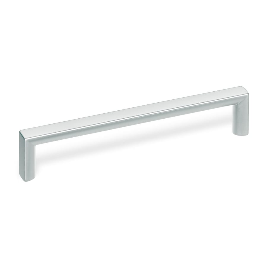 Schwinn 5-in Center-To-Center Matte Chrome Bar Cabinet Pull