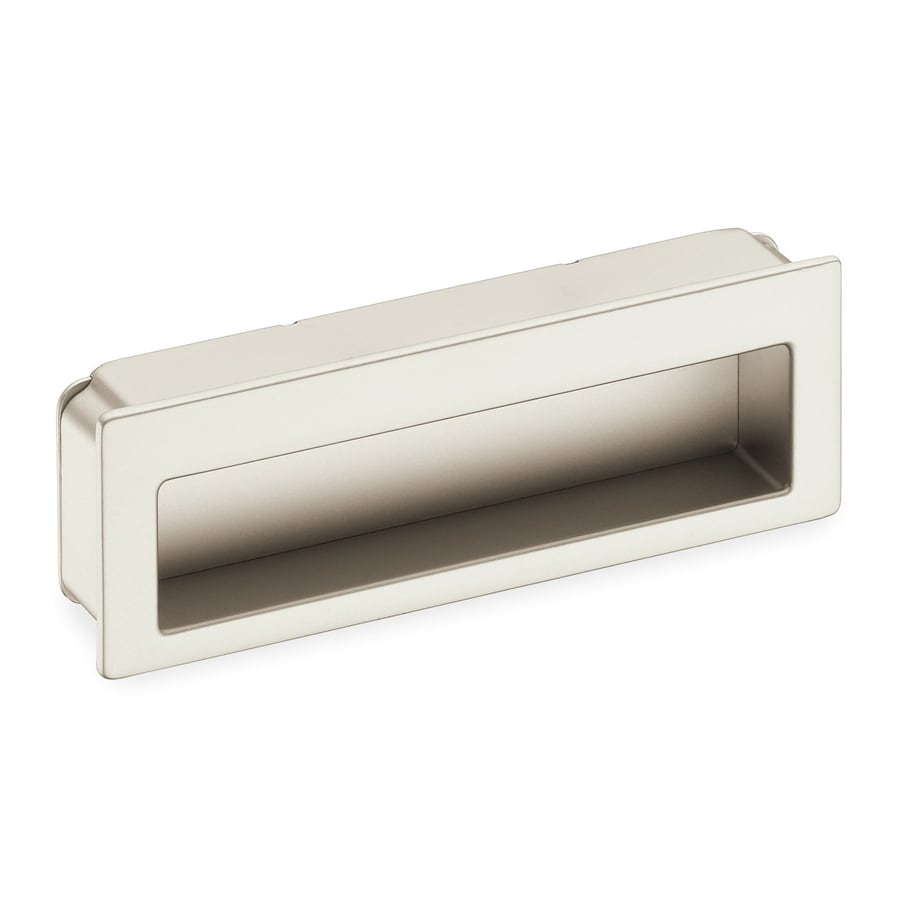Schwinn Hardware 3-3/4-in Center-to-Center Satin Nickel Rectangular Cabinet Pull
