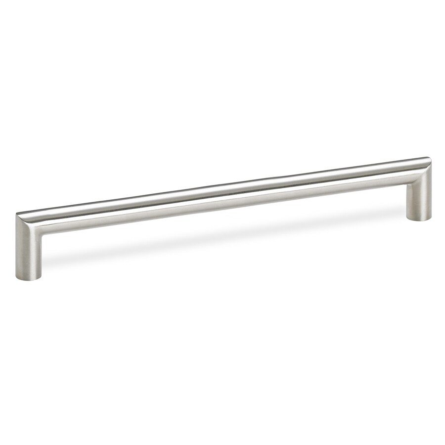 Schwinn Hardware 7-9/16-in Center-to-Center Stainless Steel Bar Cabinet Pull