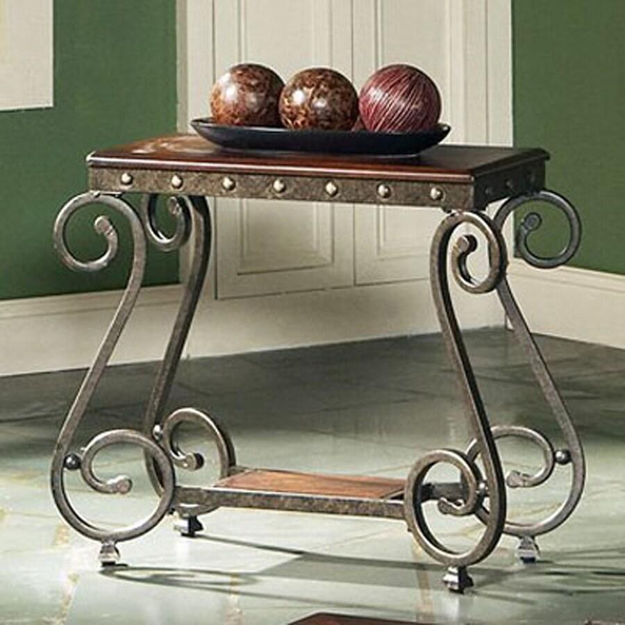 Steve Silver Company Ellery Medium Cherry Rectangular End Table