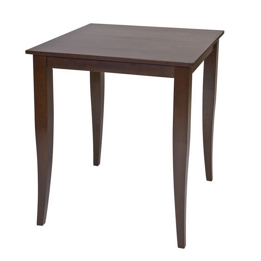 shop office star osp designs espresso square dining table at