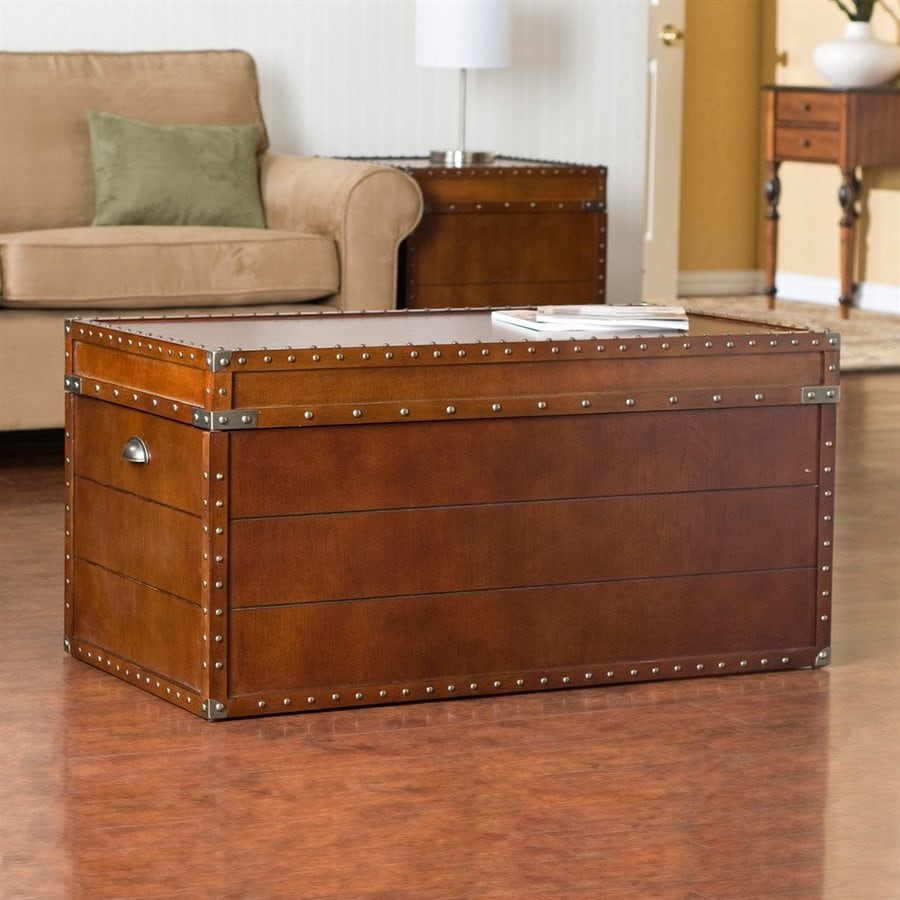 Boston Loft Furnishings Walnut Rectangular Lift Top Coffee Table