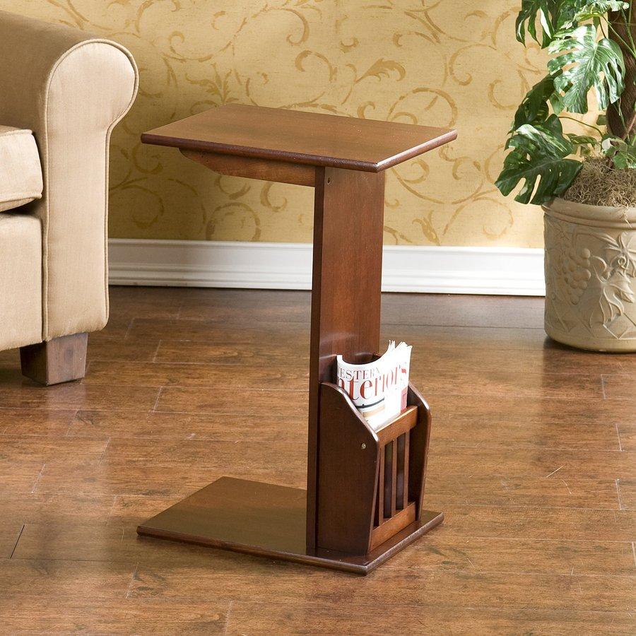 Boston Loft Furnishings Espresso Rubberwood Rectangular End Table