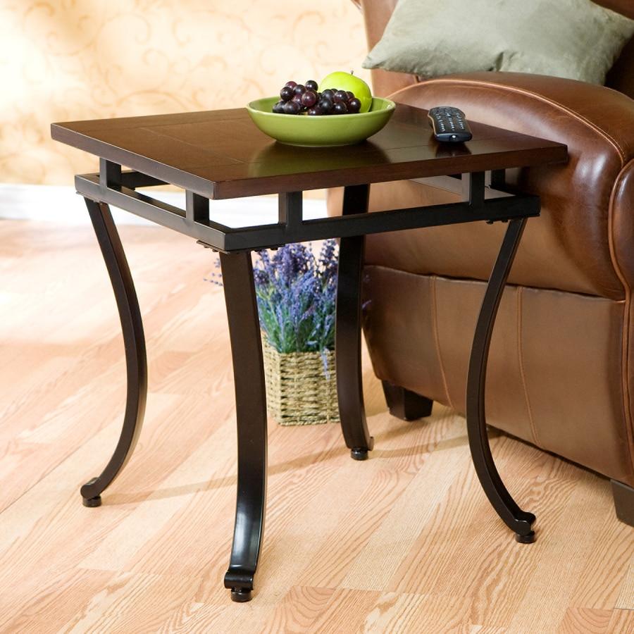 Boston Loft Furnishings Modesto Espresso End Table