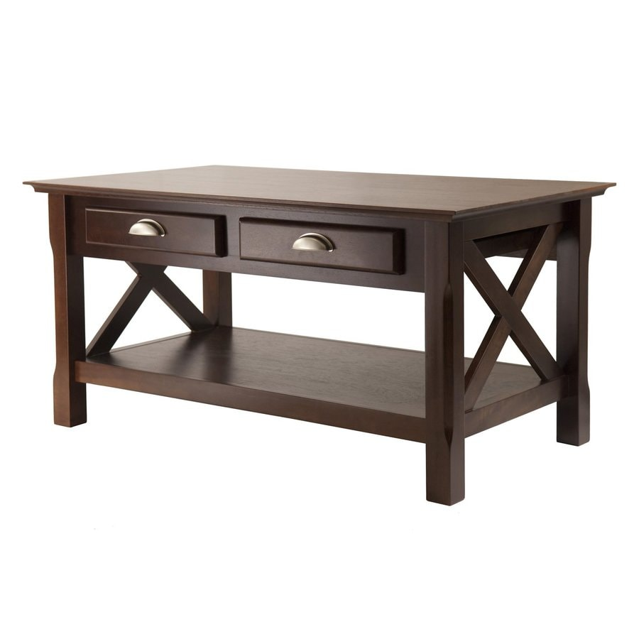Winsome Wood Xola Cappuccino Coffee Table