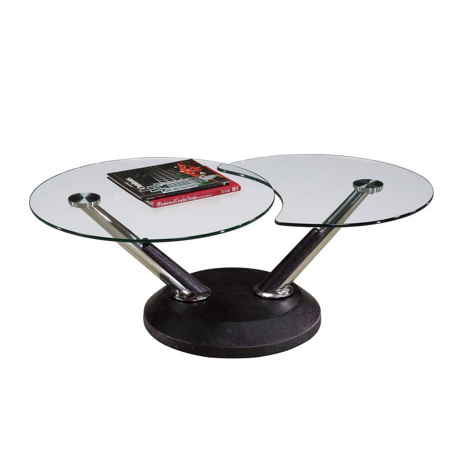 Magnussen Home Modesto Glass Coffee Table