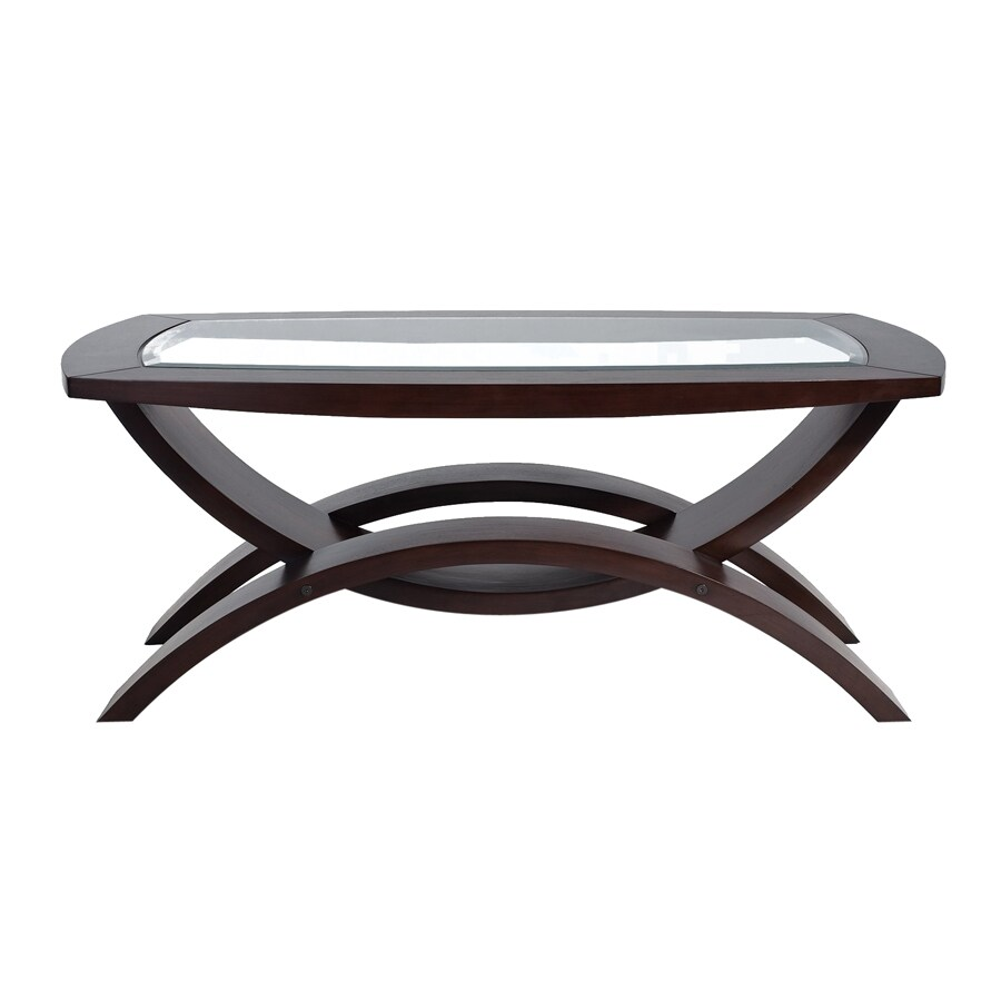 Magnussen Home Helix Hazelnut Walnut Rectangular Coffee Table