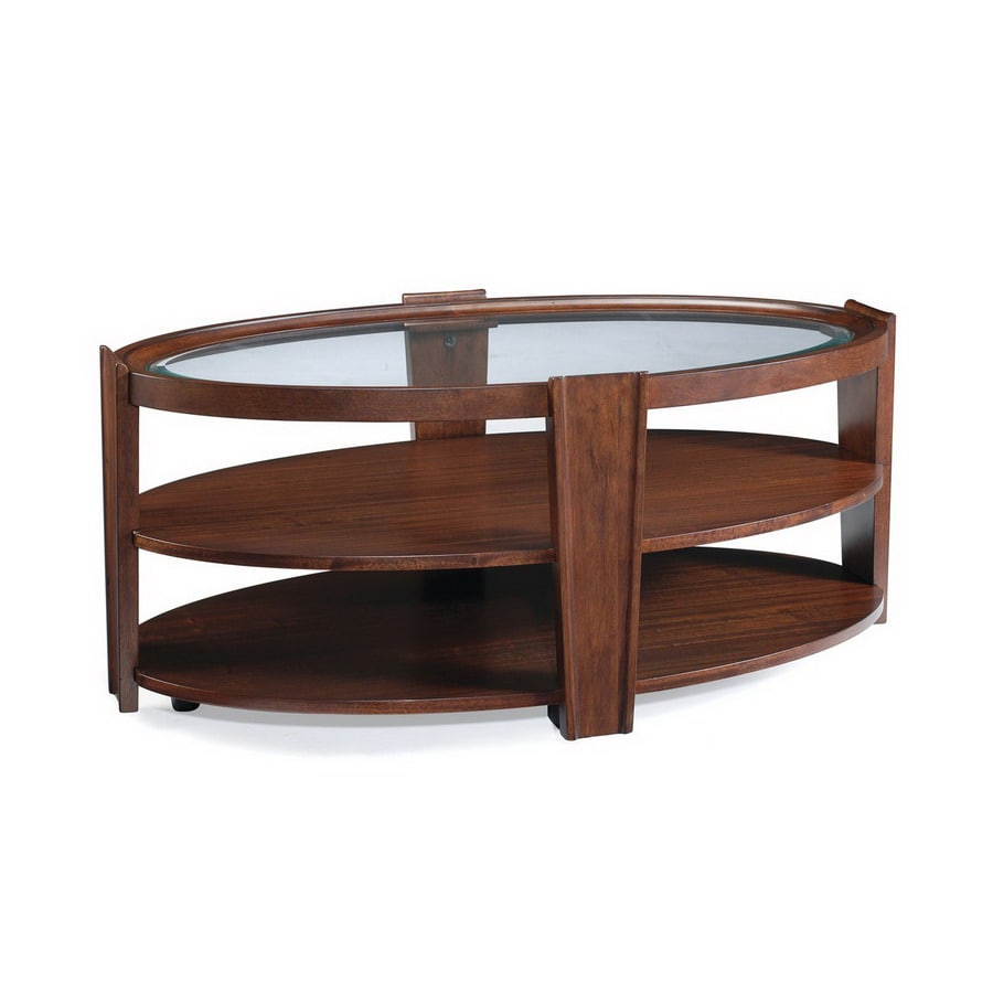 Cheap Hardwood Flooring Murphy Nc: Magnussen Home Nuvo Umber Sapele Oval Coffee Table At
