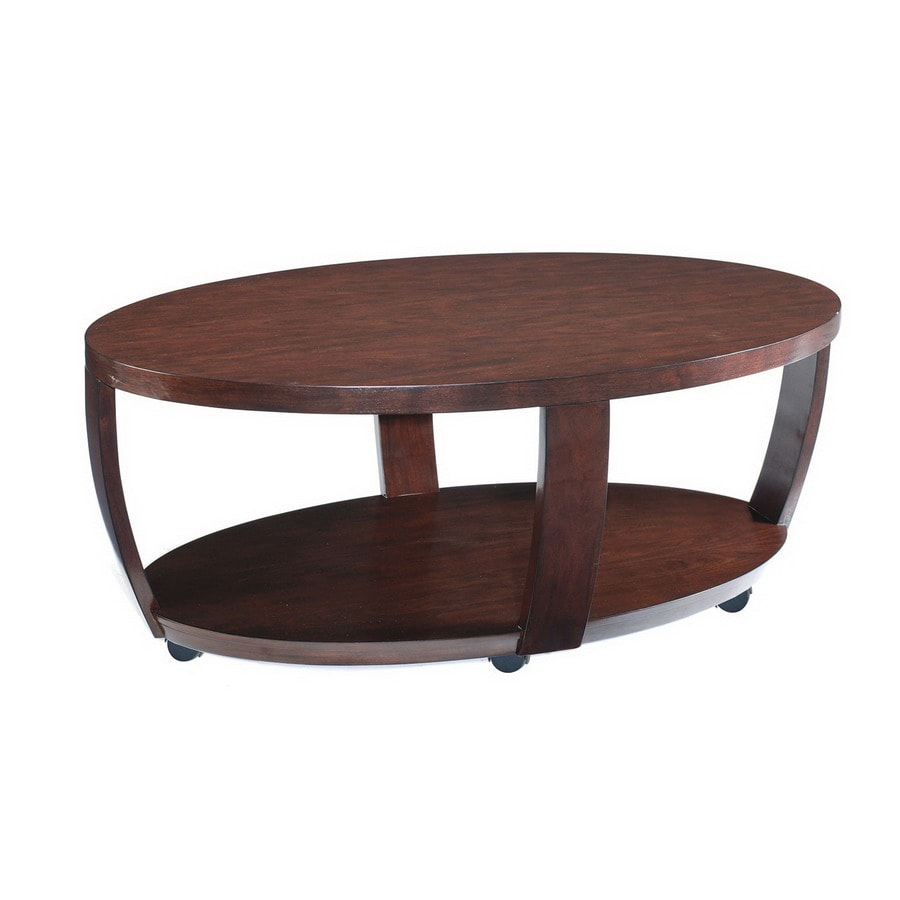 Magnussen Home Sotto Sienna Walnut Oval Coffee Table