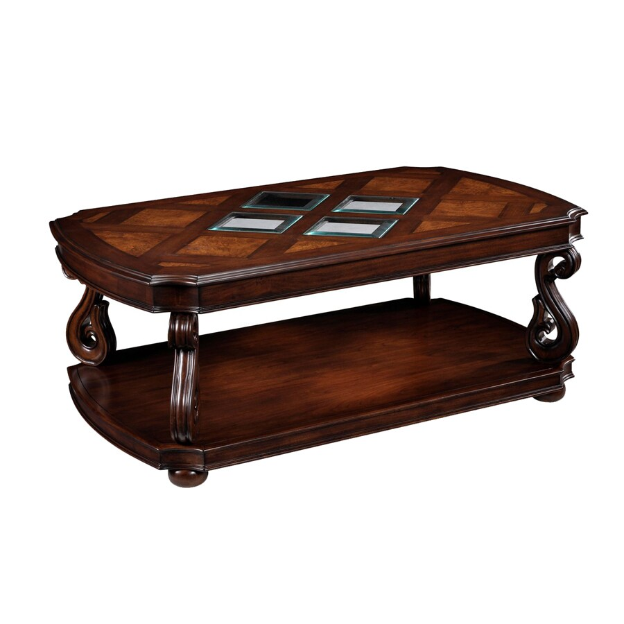 Shop magnussen home harcourt cherry coffee table at Coffee table cherry