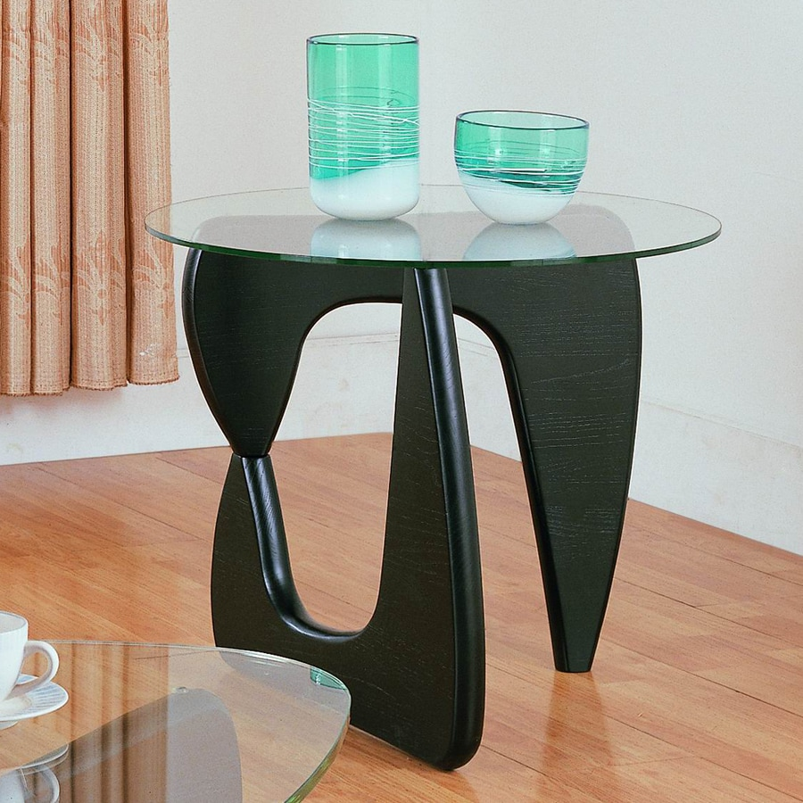 Homelegance Chorus Black Round End Table