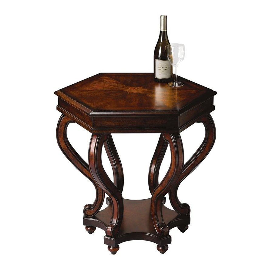 Butler Specialty Masterpiece Plantation Cherry Hexagon End Table