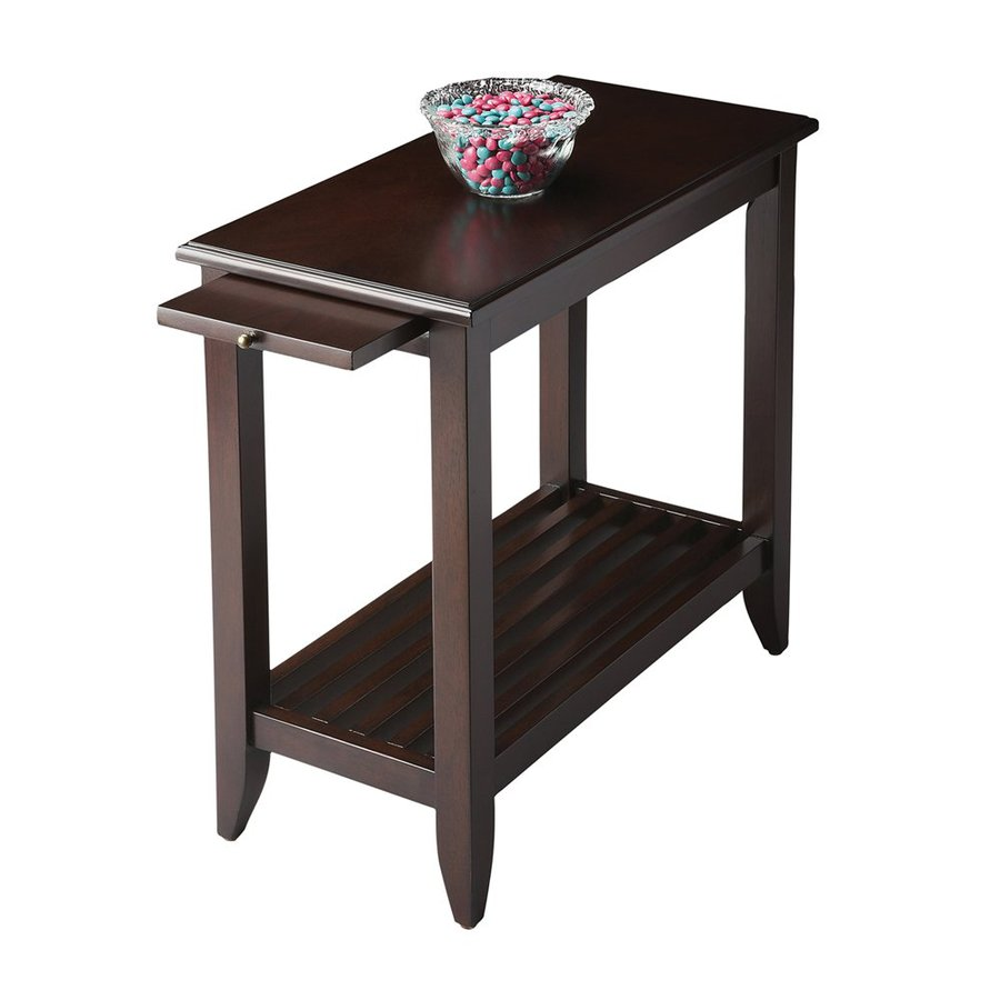 Butler Specialty Butler Loft Merlot Rectangular End Table