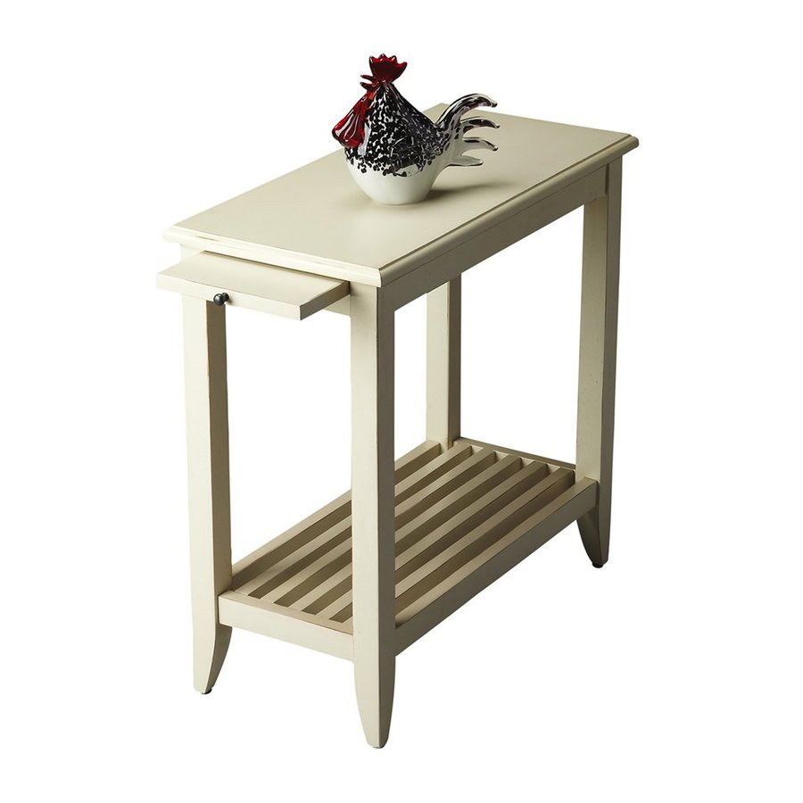 Butler Specialty Butler Loft Cottage White End Table